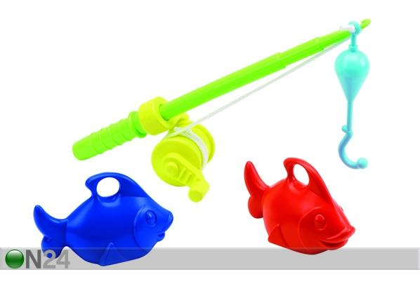 детская пластиковая удочка