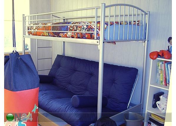 двухъярусная кровать с диваном 13 фото divanibox.ru
